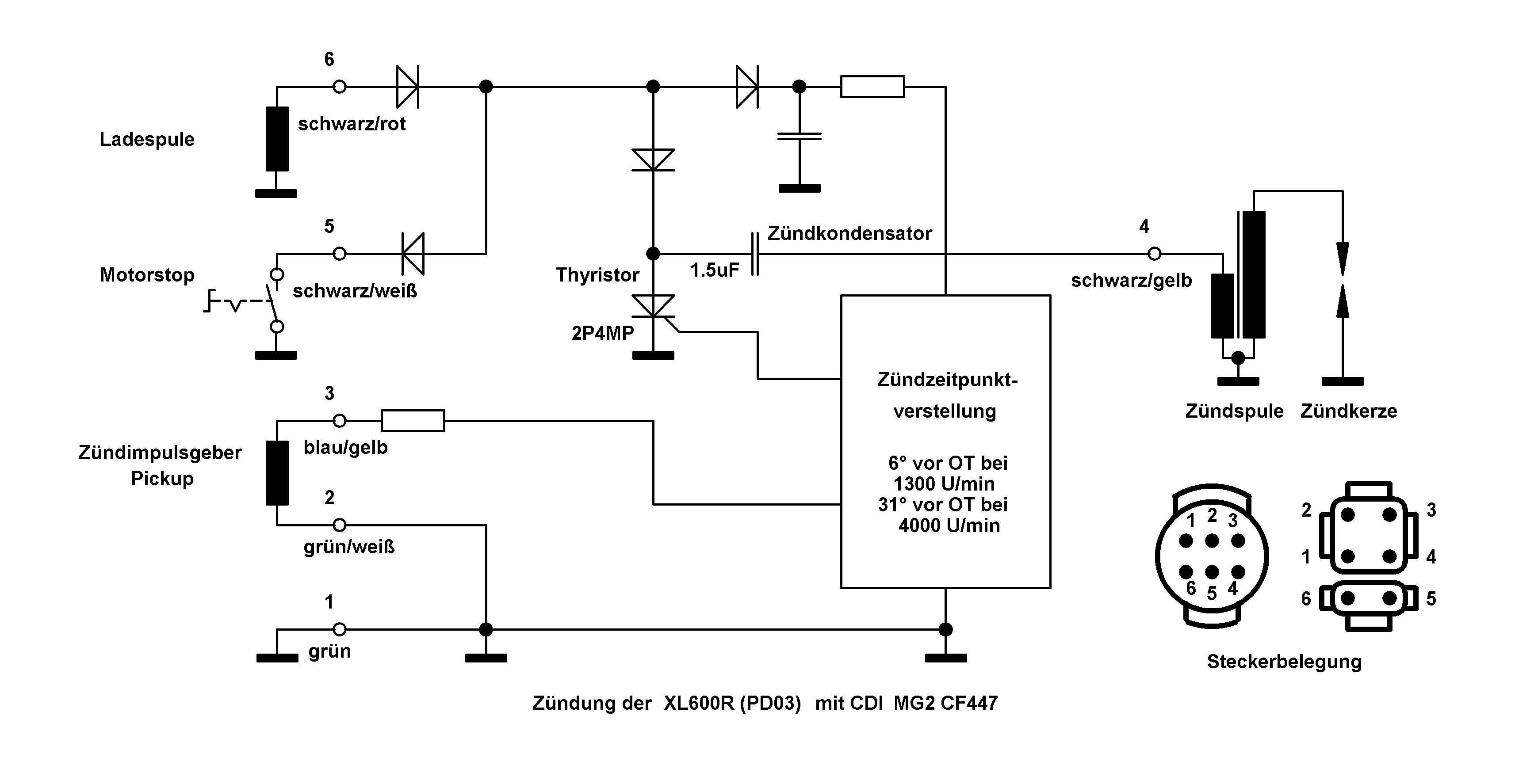Atemberaubend Dc Cdi Schaltplan Bilder - Elektrische Schaltplan ...