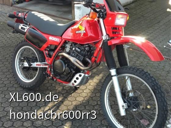 Meine HONDA XL600R Jg.85