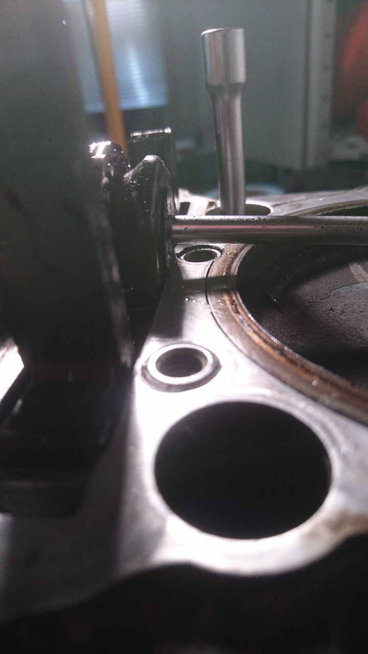 Schaden Nr. 3, Zylinderkopf Nr. 2